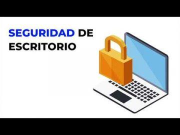 Seguridad de escritorio : Día Internacional de Seguridad de la Información